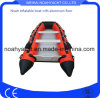 Made in China PVC/Hypalon Material Sport Inflatable Rescue Rubber Boats Red