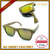 New Foldable Sunglass with 100% Wood Material &UV400 (FX15069)