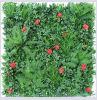 Anti-UV Fire Retardant Artificial Foliage Leaf Privacy Garden Hedge Fence Vertical Green Wall Plant