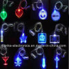 LED Flashing Christmas Light Necklace with Logo Print (2001)