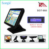Scangle 15inch Restaurant POS System with VFD Customer Display