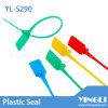 Disposable Security Plastic Seal with Code and Logo (YL-S290)