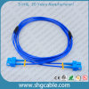 Sc-Sc Sm Duplex Armored Fiber Optic Cable Patch Cord