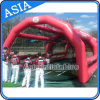 Combined Inflatable Batting Cage Tent for Practice at Sports Gym