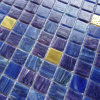 Bisazza Mosaic Goldstar Glass Tile