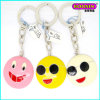 New Promotional Custom Emoji Enamel Metal Keychain From China