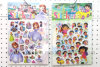 Wholesale Cartoon Sponge Stickers, 3D Puffy Cartoon Stickers for Kids, Colorful Stickers Child