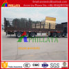 High Side Wall Flatbed Turntable Stake Semi Trailer