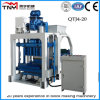 Qtj4-20 Concrete Hollow Block-Forming Machine/Concrete-Brick-Making-Machinery in Nigeria