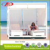 Rattan Beach Sun Bed Sun Lounger (DH-8606)