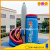 Inflatable Rocket Curve Slide (aq1123-1)