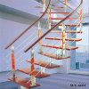 Penthouse Rooms Stairs Modern Design Spiral Staircase Steel-Wood Stairs