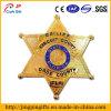 High Polished Gold Star Metal Enamel Pin Badge