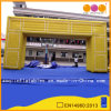 Outdoor Decoration Yellow Inflatable N-Shaped Arch (AQ5385)