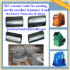 Dia. 14*60mm for Hammer Crusher Head Blank, Tic Hammer Rods