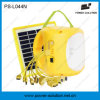 Portable Lithium Battery LED Solar Lamp with Phone Charging