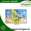 Barbados Souvenir MDF Magnet for Tourist Collection