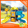 Mini Outdoor Children Play Area Playground Equipment Slides with Tic Tac Toe
