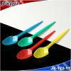 Jx122 Colorful Small Plastic Teaspoon Ice Cream Spoon 1.6g 125mm
