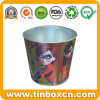 Tin Pail for Metal Trash Bin, Bucket/Barrel Tin