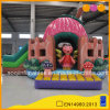 Girl Toys Cute Inflatable Strawberry Castle Bouncer and Slide (AQ01672)
