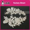 Shoulder Polyester Flower Lace Applique