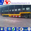 4 Axle Gooseneck Flatbed Semi Trailer for Sale