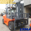 6 Ton Diesel Forklift Truck with Free Lift Mast