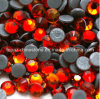 Fire Red Color Rhinestone Hot Fix Stone for Garment Accessories