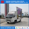 Foton 4X2 Outdoor Mobile Billboard Truck with LED Screen