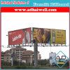 Three Sides Steel Structure Advertising Billboard