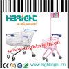 150L Supermarket Metal Shopping Cart