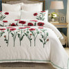 Rose 6OS Stain Cotton Bedding Set