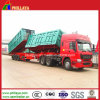 Truck Semi Trailer / Hydraulic Double Dumper / Semi Trailer Tipper