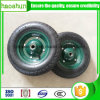 Pneumatic Rubber Wheel 3.50-7 with 20mm Bearing