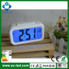 Digital LED Alarm Clock with Sound Control Lock for Desktop