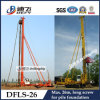 Long Screw Sheet Pile Driver
