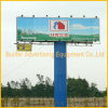 Pole Supported Horizontal Outdoor Prisma Billboard Structure