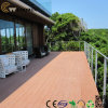 Waterproof Wooden WPC Groove Balcony Flooring Materials