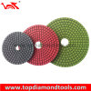 Resin Bond Flexible Diamond Polishing Pads for Angle Grinding Granite