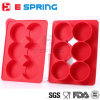 6 Cavity Silicone Meat Patty Maker Burger Press Bakeware