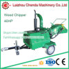 Log Wood Chipper Machine