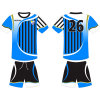 Sublimated Football Soccer Uniform Tshirt for Team