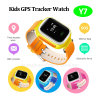 Kids Tracker Watch with GPS and Lbs Dual Position (Y7)