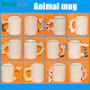Direct Manufacturer 11oz Blank Sublimation Animal Handle Mug