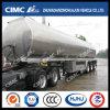 Cimc Huajun 45cbm Aluminium Alloy Gasoline/Petrol Tanker with Competitive Price