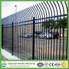 China supplier Galvanized Powder Coated Steel Picket Fence