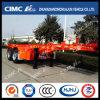 Cimc Huajun Hot Sales Overseas 2axle Skeleton Container Semi-Trailer