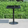 High Quality Outdoor Side Table with Glass