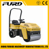 Double Drum Mini 1 Ton Compactor Vibratory Roller with Famous Diesel Engine (FYL-880)